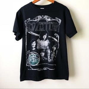 Led Zeppelin Black Tee Unisex
